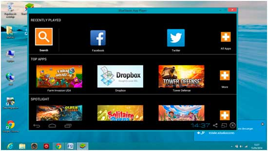 apps on Bluestacks App Player with bluestacks for windows 10