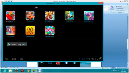 search play apps free in bluestacks for PC app player